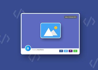 Cara Membuat Gambar Postingan Pertama Menarik Share Frame Seperti Website Keren Sariksa Com