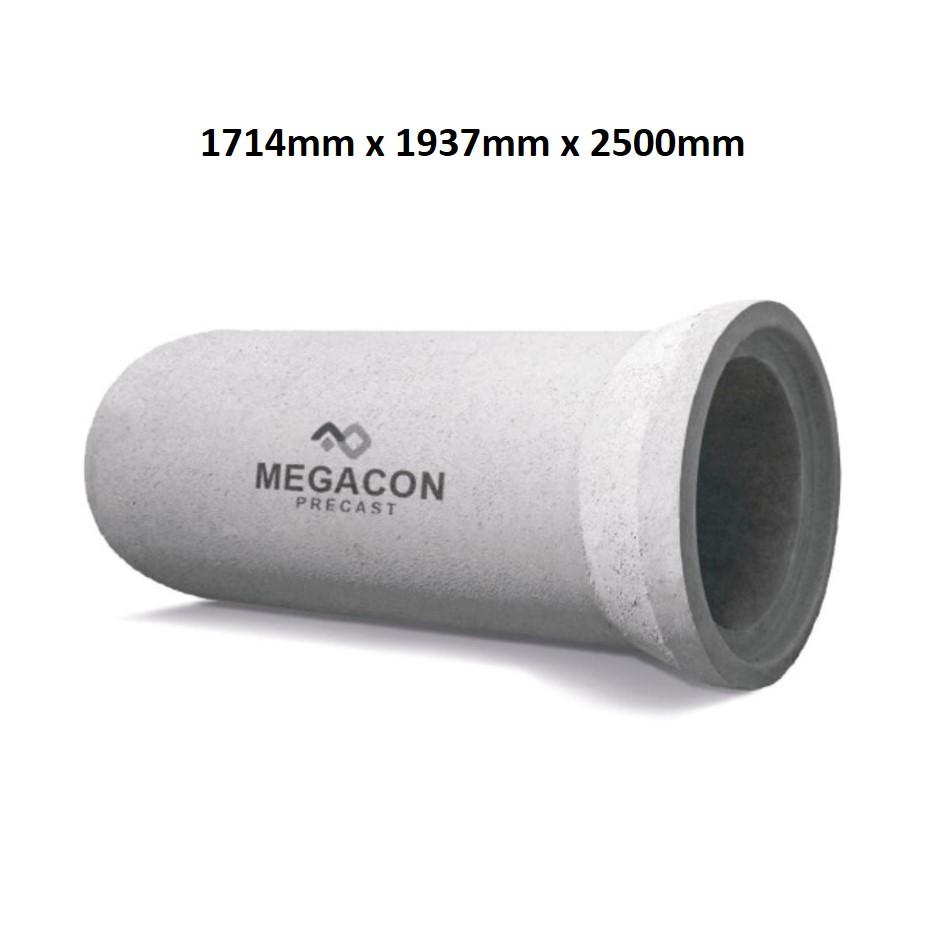 Pipa Beton Bertulang (Tipe R Kelas 2) Diameter 1500 mm