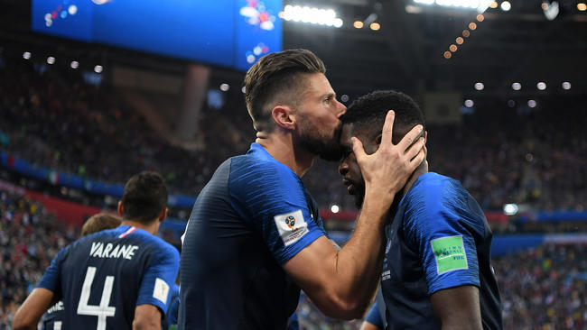 Francia es finalista de la Copa del Mundo