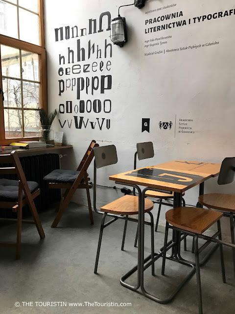 Drukarnia Cafe. Gdansk, Poland