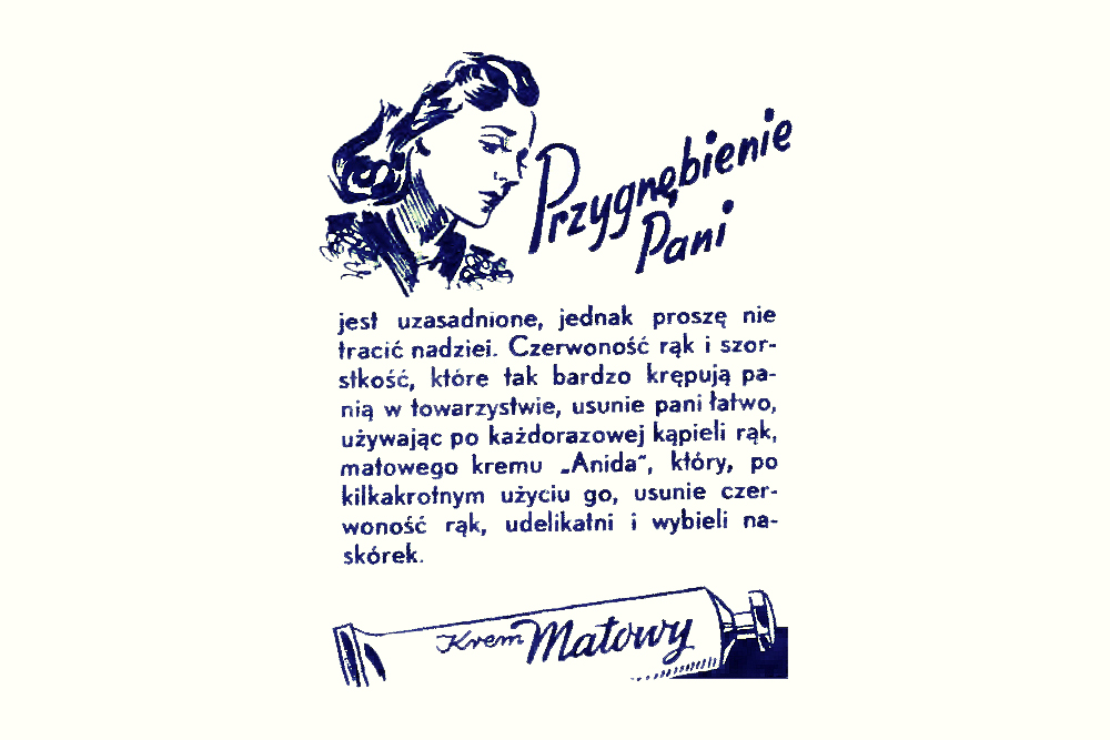 Reklama prasowa, 1948