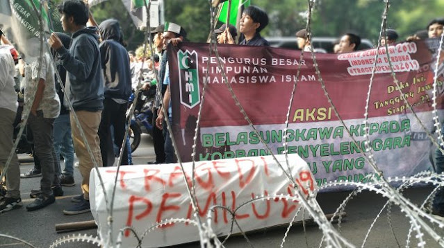 Rencana Demo Istana, Polisi Satroni Kantor PB HMI: Kami Cegat karena Tak Berizin