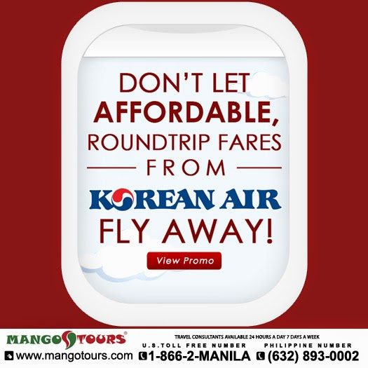 Korean Air's Cheap Flights to Manila
