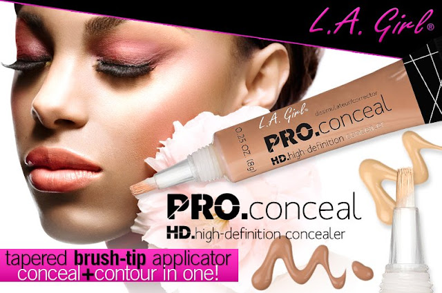 review, la girl, l.a girl pro conceal hd, che khuyết điểm, concealer, mỹ phẩm usa, l.a girl cosmetics