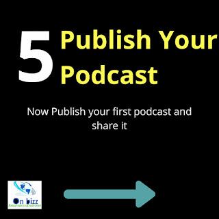 unggah atau publisth podcast ke platform