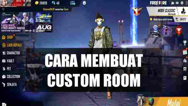 Cara membuat custom room ff