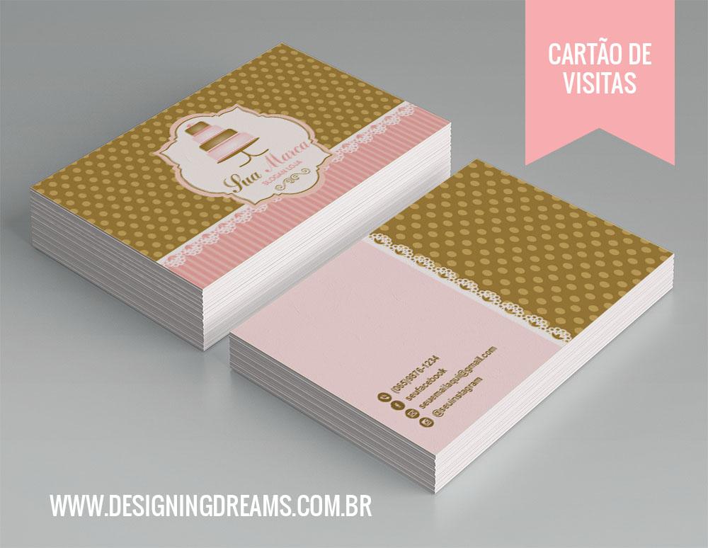 Extremamente Identidade Visual para Cake Design/Confeitaria - Cantinho do blog XC72
