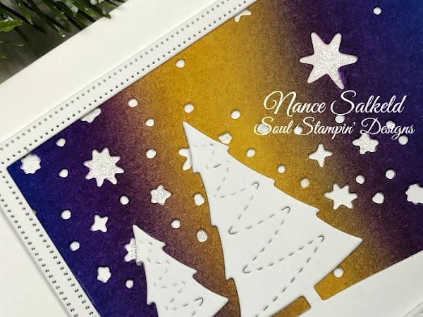 CAS Christmas Card Challenge - Winter Scene