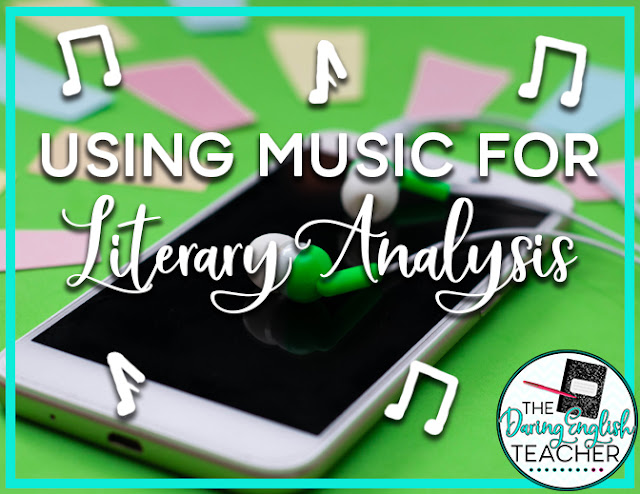 Using Music for Literary Analysis