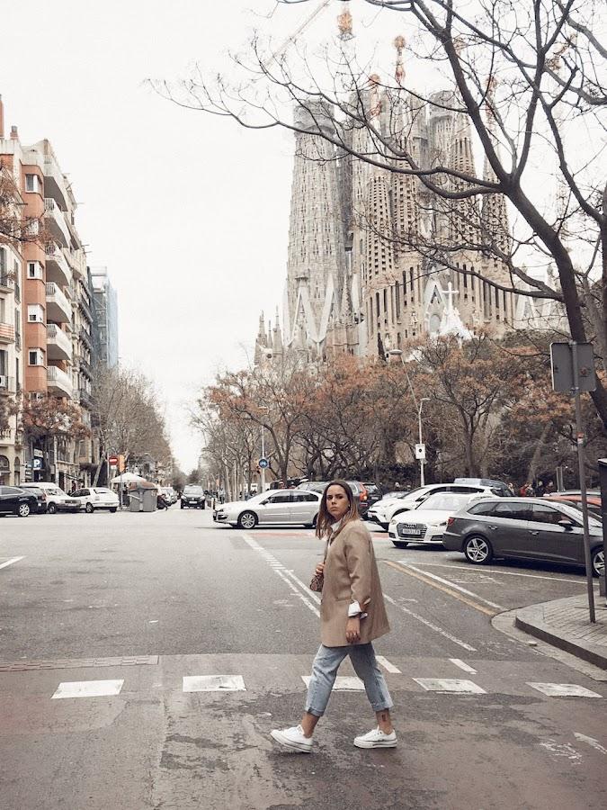 Paseando por Barcelona