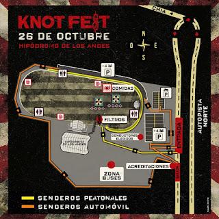 MAPA Festival KNOTFEST No. 1 Bogotá 2018