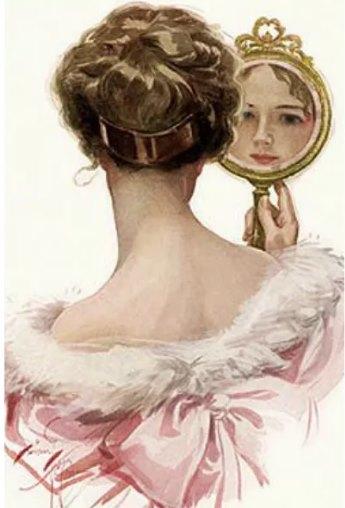 старинная косметика для волос