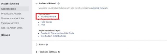 طريقة ربح 22,000 دولار من خلال المقالات الفورية و Audience Network