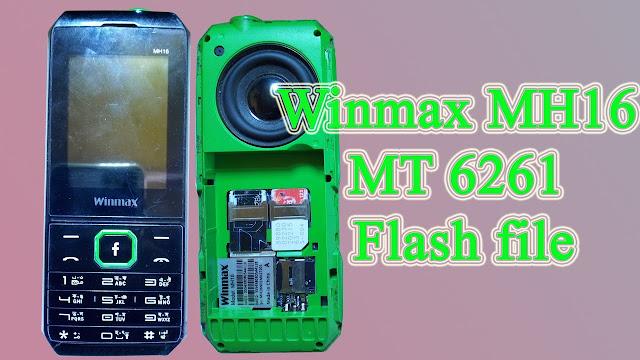 Winmax MH16 MT 6261 Flash file