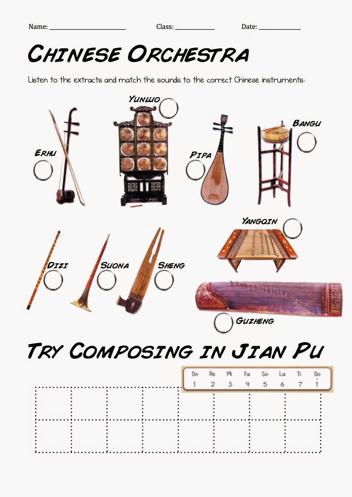 Primary School Music Lesson Ideas