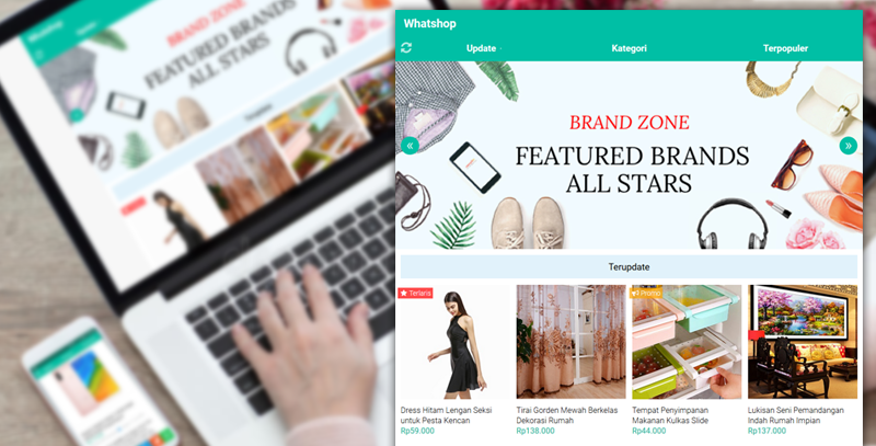 XML Whatshop Responsive Blogger Template