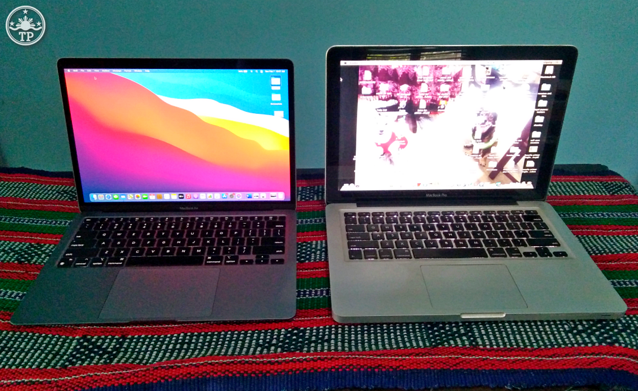 2020 Apple Macbook Air with M1 Processor vs 2010 Macbook Pro, Apple Macbook Air M1
