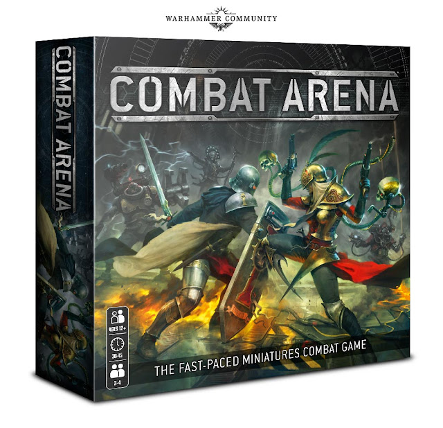 Combat Arena juego de mesa