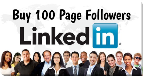 Buy 100 LinkedIn Page Followers