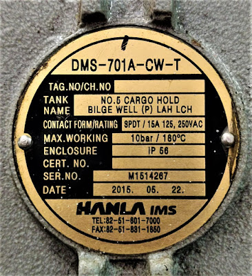 LEVEL SWITCH HANLA DMS-701A-CW-T (DMS 701A CW T)