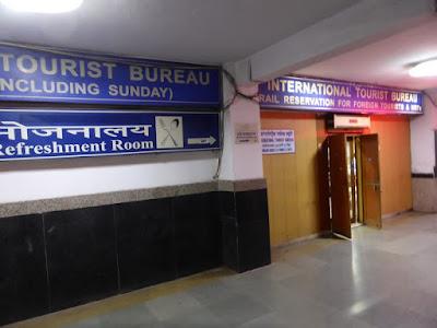 International tourist boureau New Delhi Station
