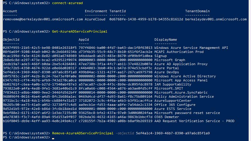 David Klein's Corner: Deleting Azure Active Directory Tenant