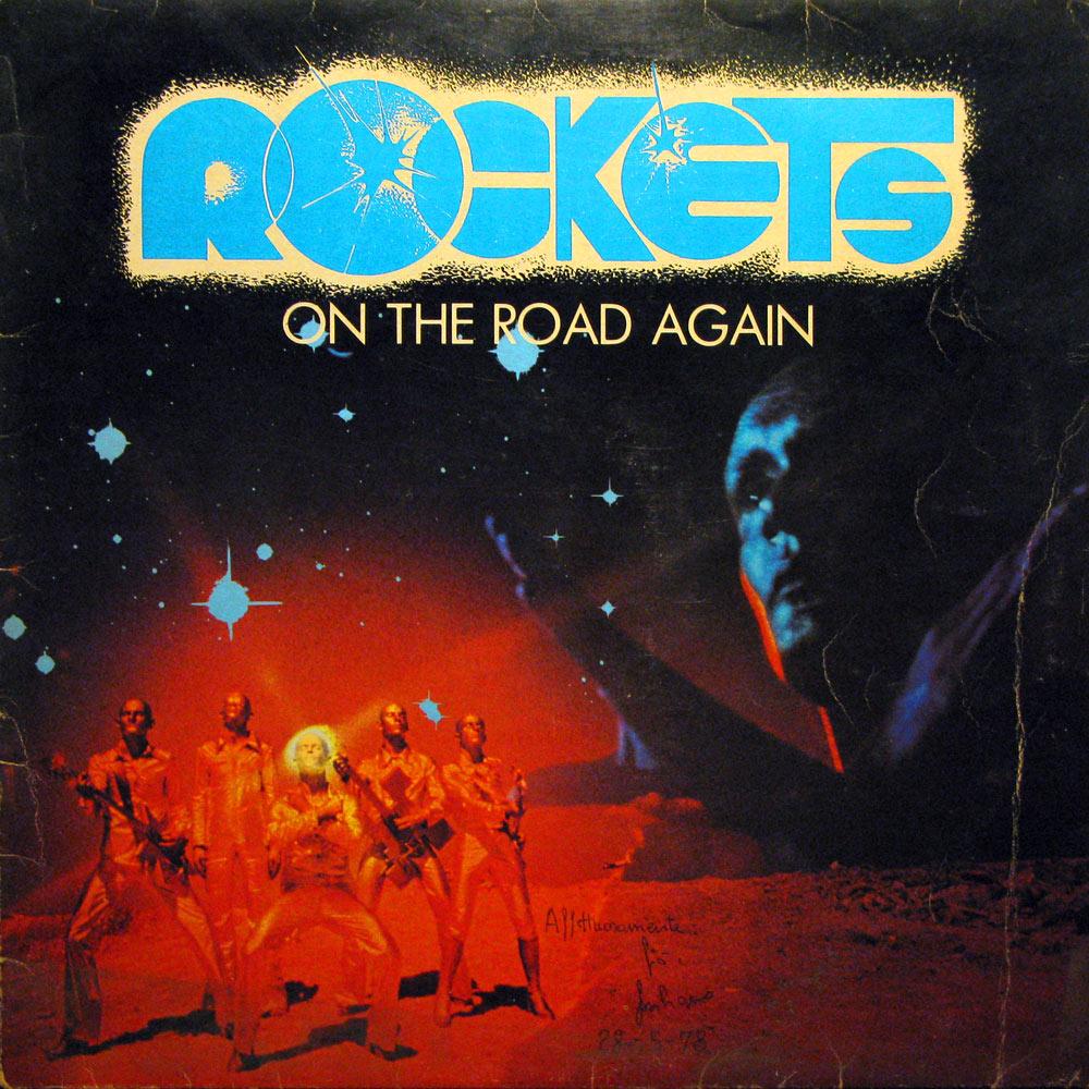 Vinyl2496 Rockets On The Road Again 1978 2496 Lp