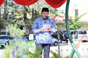 HUT KORPRI dan PGRI 2019, Bupati Beri PNS Piagam Purna Bhakti Pra Pensiun