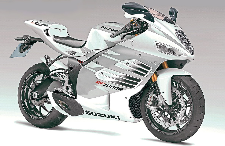 9e53d832cdc motorcycle modification  2016 Suzuki RF1000R Concept !