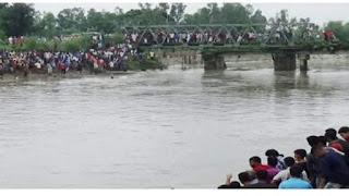 ডোমার উপজেলায়, অটো ভ্যান নদীতে পড়ে ২ শিশু নিখোঁজ