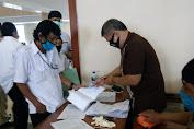 Sebanyak 461 Calon Anggota FKDM Priode 2021-2023 Yang Lolos Seleksi Mengikuti Test Urine
