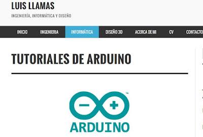 http://www.luisllamas.es/tutoriales-de-arduino/