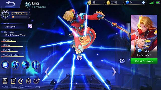 Cara Menggunakan Hero Ling Dijamin Maniac
