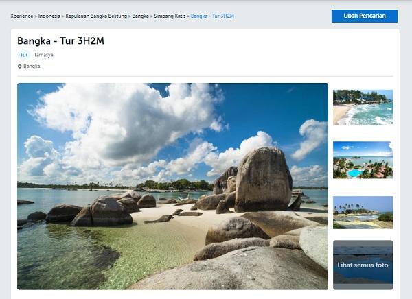 Bangka - Tur 3H2M Traveloka Xperience Bangka Belitung