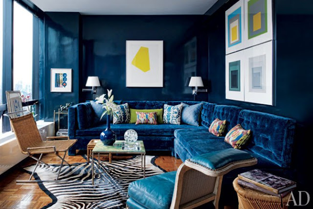 Todd Romano's Manhattan studio via Architectural Digest