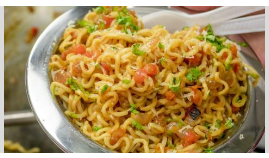 Make Maggi Make a small change and taste, do not eat fingers, then say