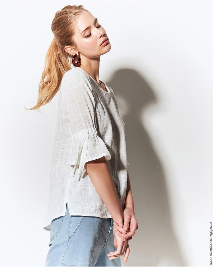 Blusas primavera verano 2020 moda ropa de mujer.