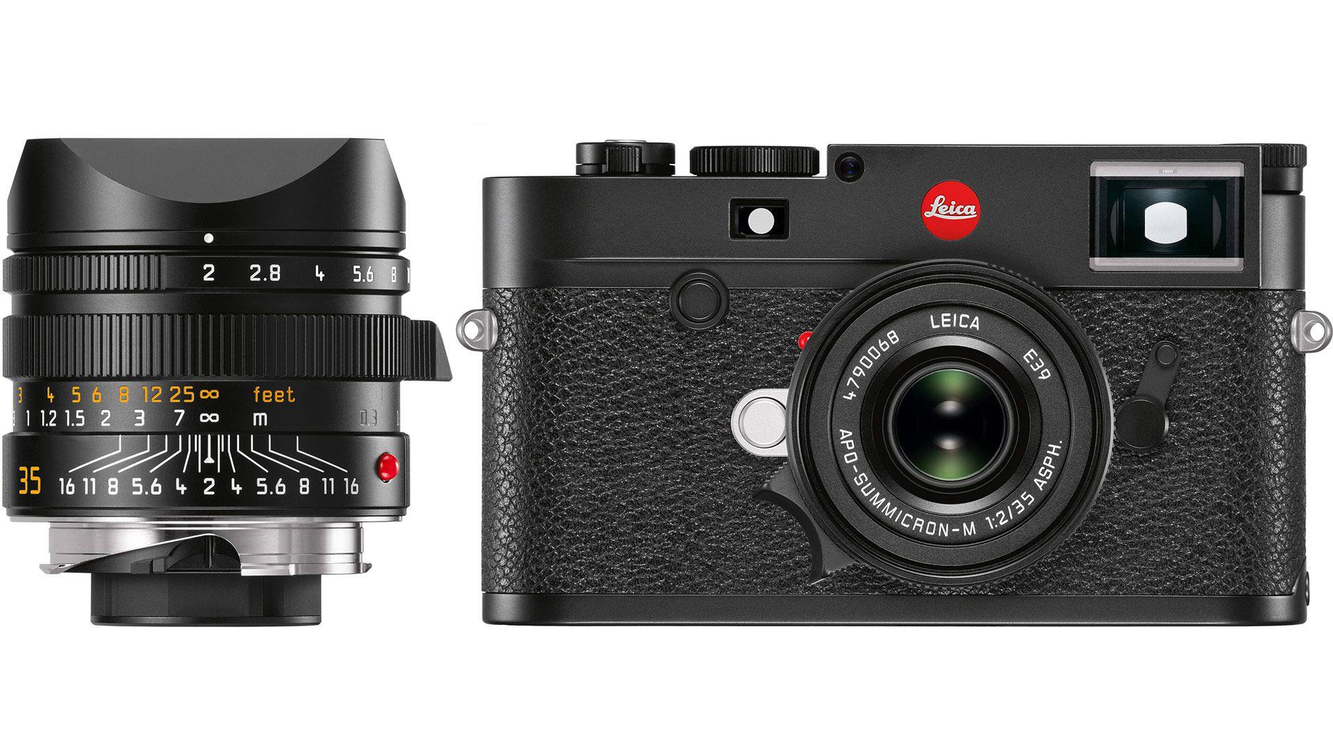 Объектив Leica APO-Summicron-M 35mm f/2 Asph. с фотоаппаратом Leica