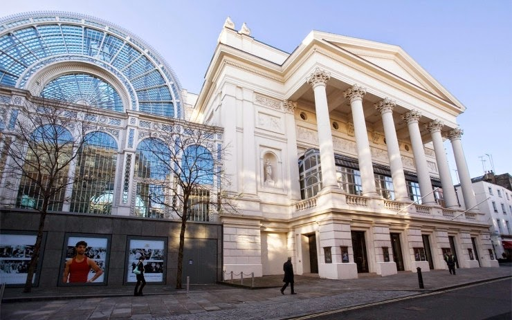 4. The Royal Opera House, London, England - Top 10 Opera Houses in the World