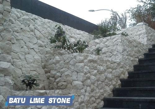 jual batu alam lime stone