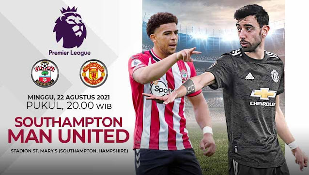 Link Live Streaming Southampton vs Manchester United
