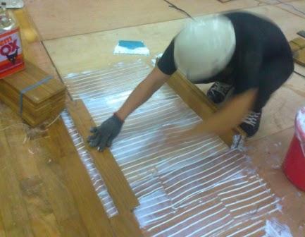 spesialis pemasangan lantai kayu di bandung
