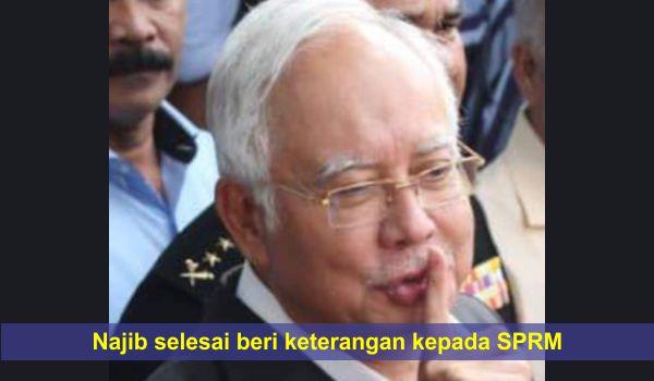 [Video] Najib selesai beri keterangan kepada SPRM