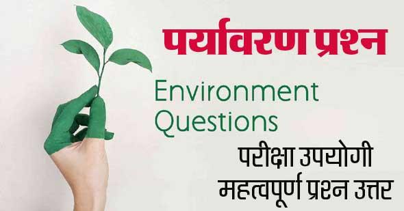 environment gk question