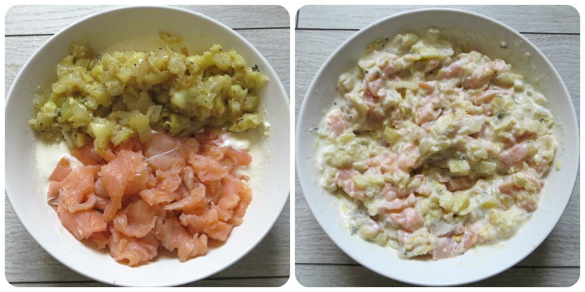 Cocotte forever: Courgettes farcies au saumon fumé : 144