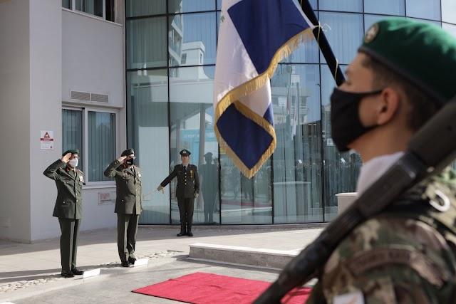 Επίσημη Επίσκεψη Αρχηγού ΕΔ Ηνωμένων Αραβικών Εμιράτων στην Κύπρο (ΦΩΤΟ)