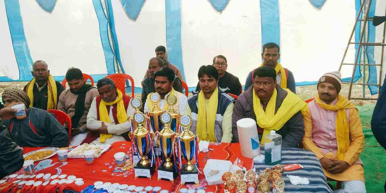 sbsp%2Bteam भारद्वाज स्पोर्टिंग क्लब द्वारा कबड्डी मैच का आयोजन , मुख्य अतिथि सिद्धार्थ राजभर।
