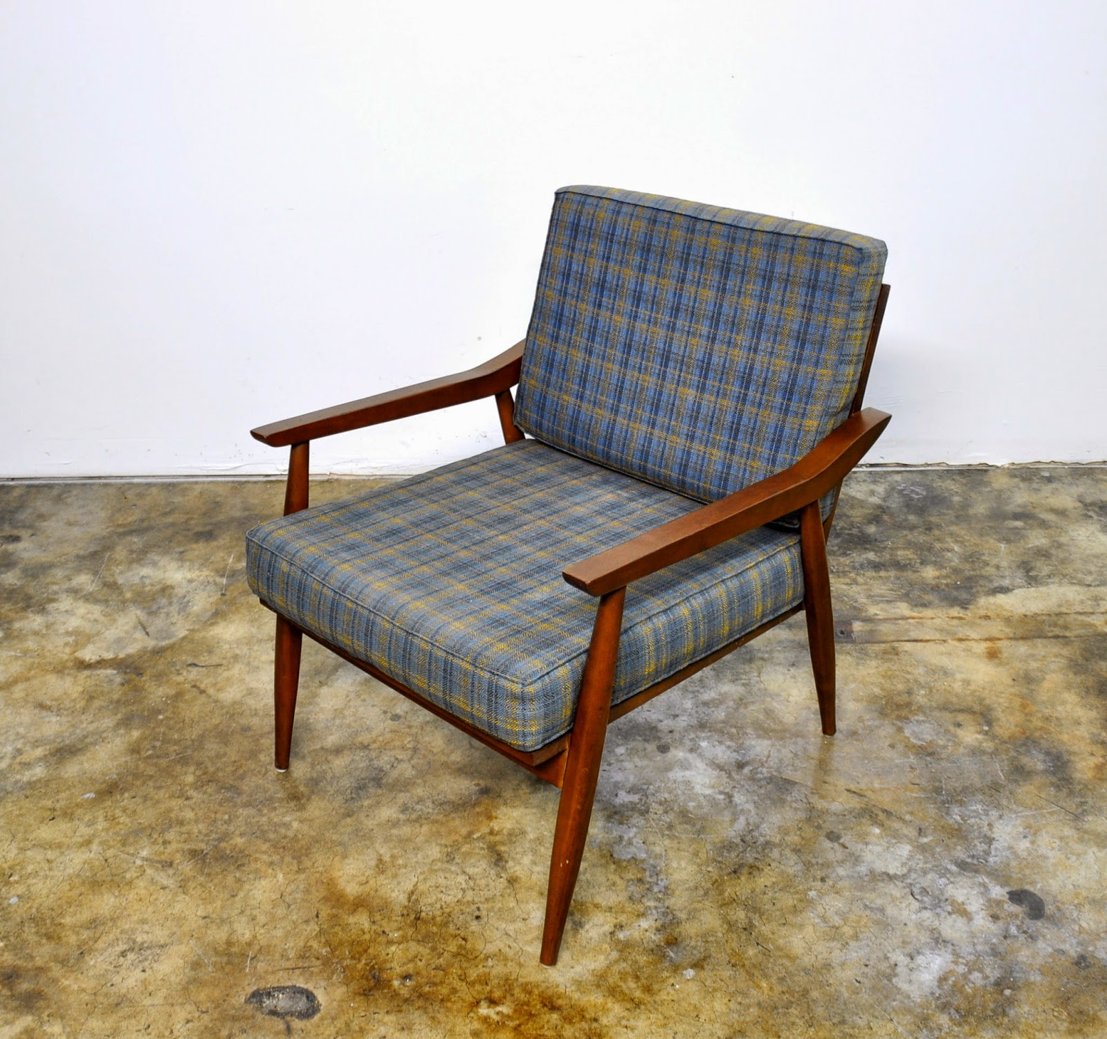Mid Century Armchair Select Modern: Danish Modern Lounge Or Easy Chair