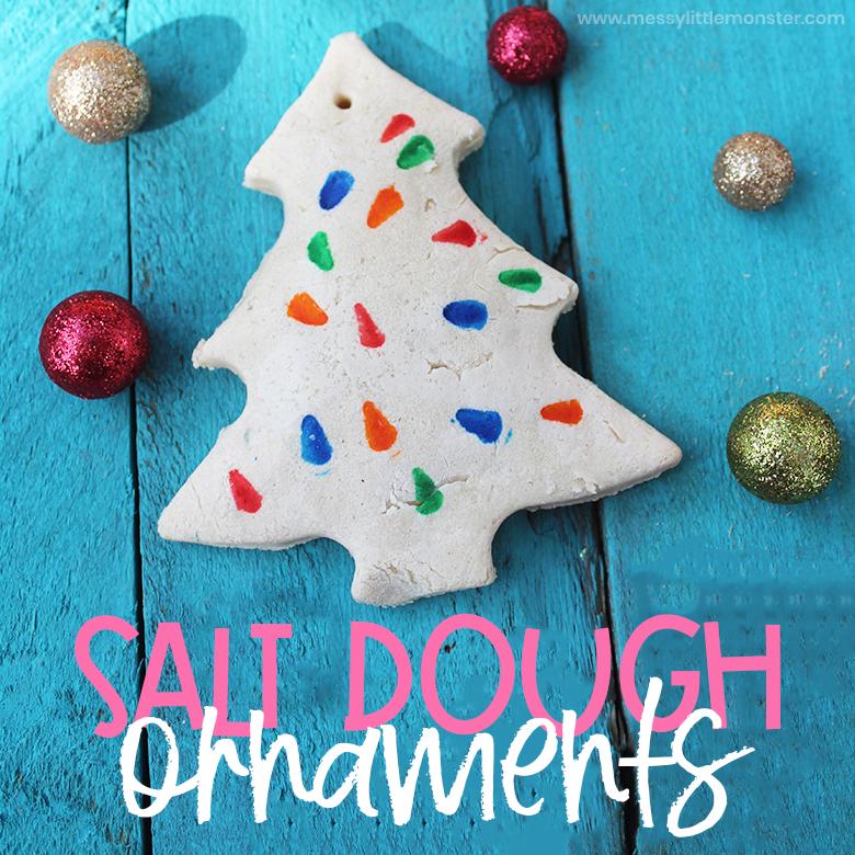 easy salt dough decroations