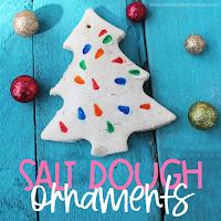 easy salt dough recipe to make salt dough decorations